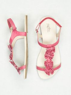 Pazitos, because they're named Farfalle Sandals :) $35.