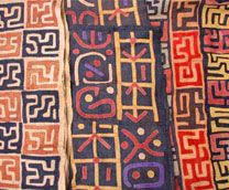 Zanzibar Tribal Art has a large selection of handcrafted African textiles