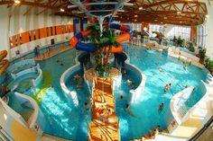 Waterpark in Krakow. http://partykrakow.co.uk/stag-weekends-krakow/relaxed/water-park/