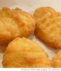 Chicken Nugget Recipe with Honey-Lemon Sauce