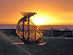 Beachport Sculpture - Native Vision