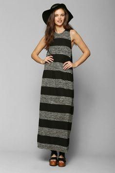 Cheap Monday Rory Stripe Knit Maxi Dress #urbanoutfitters