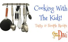 Simple Recipes, Cooking With Kids, Quality Time, Food Videos, Food To Make, Easy Meals, Tasty, Teaching, Make It Yourself