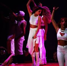 Check out MTA Dancer Charity Baroni dancing it out with Selena Gomez.
