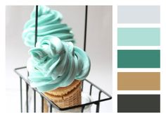minty cone colors