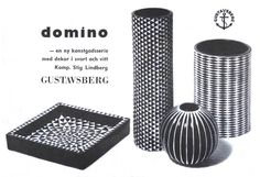 Poster: Gustavsberg - Domino