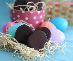 Chocolate Peanut Butter Eggs, a favourite in every Easter basket, made over to be low carb and gluten-free. I'm sorry, it's impossible.  I simply cannot believe it, I refuse to believe …