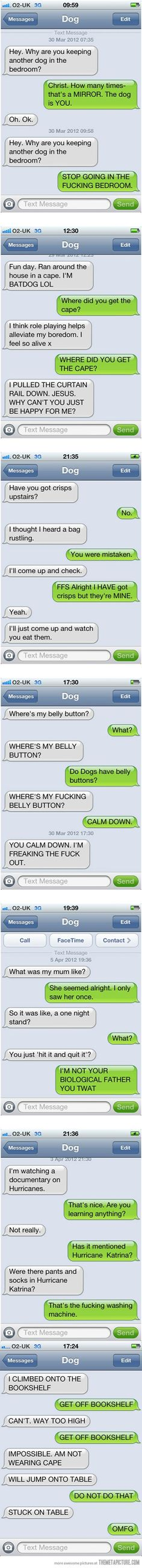 Texts From My Dog....hahahaha :D