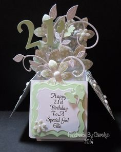 POP-UP BOX BIRTHDAY CARD by carolynshellard