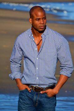 Black Male Model Ngo Okafor - Image Gallery