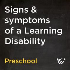 How do you know if your child has a learning disability? Learn to read the signs.