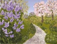 lovely lilac path