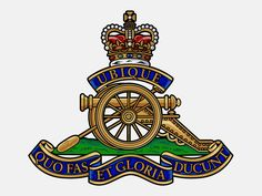 Emblem for The Royal Regiment of Canadian Artillery
