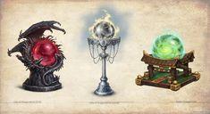 Artifacts and Legends_2 by KateMaxpaint.deviantart.com on @deviantART