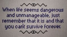 welcome to night vale cross stitch - Google Search