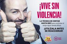 CONTAR HASTA DIEZ SIGUE SIENDO EFICAZ #QuieroVivirSano #SaludSocial #ViveSinViolencia