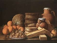 Luis Melendez - Still Life With Oranfes and Walnuts (1772)