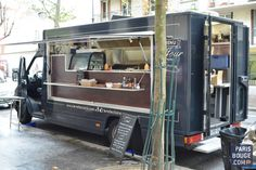 Le refectoire - Food Truck - Street Cuisine - Paris - France