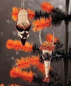 Look at this #zulilyfind! French Halloween Ornament #zulilyfinds