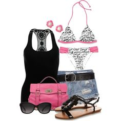 VS Bikini, created by colierollers on Polyvore