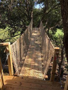 "Treehouse Netting | Knottless 1-3/4"" Square Netting - 12' width - 12' width"