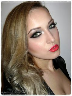 wedding make up, but without the lower eyeliner