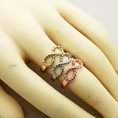 Infinity Mini Ring (one pcs price) ,Supply all kinds of cheap fashion jewelry ,shop at www.costwe.com