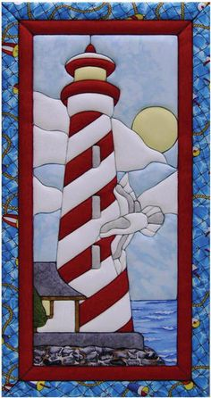 "Lighthouse Quilt Magic Kit-10""X19"""