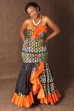 Binti Africa   African Fashion Strapless Mermaid Dress #Africanfashion #AfricanClothing #Africanprints #Ethnicprints #Africangirls #africanTradition #BeautifulAfricanGirls #AfricanStyle #AfricanBeads #Gele #Kente #Ankara #Nigerianfashion #Ghanaianfashion #Kenyanfashion #Burundifashion DK