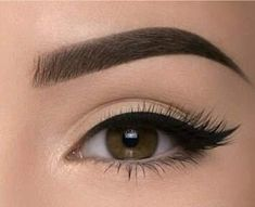 Today am gonna show how to grow eyebrows naturally at home with very simpl. Wax Eyebrows At Home, How To Grow Eyebrows, Thick Eyebrows, Perfect Eyebrows, Eyebrow Design, Korean Eye Makeup, Asian Makeup, Eyebrow Embroidery, Winged Eyeliner Tutorial