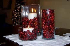 DecoratingWithCranberries