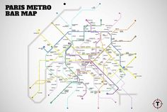 linhas de metro pais e seus bares