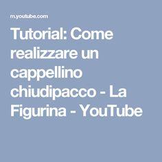 Tutorial: Come realizzare un cappellino chiudipacco - La Figurina - YouTube Tutorial, Origami, Youtube, Figurine, Bricolage, Origami Paper, Youtubers, Origami Art, Youtube Movies