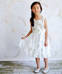 Another great find on White Sequin Wave Dress - Toddler & Girls by Unik Toddler Girl Dresses, Flower Girl Dresses, Toddler Girls, Kids Formal Wear, Glam Girl, Little Princess, Kids Outfits, That Look, Wedding Day