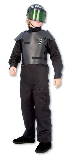 SWAT Child Costume from Buycostumes.com
