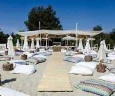 Cabana Beach Bar Halkidiki Greece-Yup! Its exactly like this:) MJ