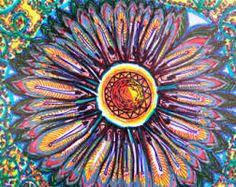 Mandala Flower Original Drawing handmade with by DharmaDevotion, Flower Mandala, Bulldog Puppies, The Originals, Drawings, Flowers, Handmade, Decorating, Google, Digital Prints