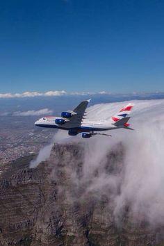British Airways A380 In flilght Worlds Best Aviation Photography