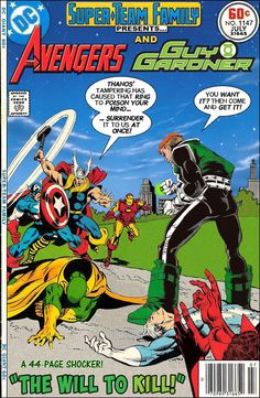 Super-Team Family: The Lost Issues!: The Avengers and Guy Gardner