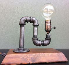 Edison Industrial table lamp Industrial Lighting Steampunk