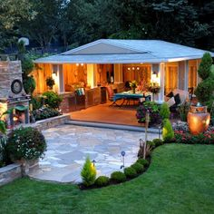 Outdoor Spaces On a Budget | Picture 6 of 6 Outdoor Living Spaces On A Budget Photo Gallery