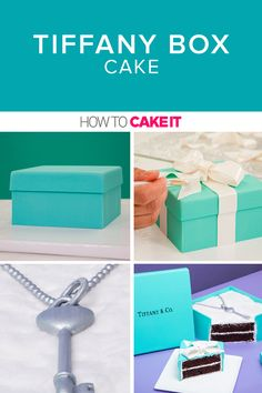 Create this gorgeous and life like box cake. Complete with a necklace and bow, see how to bake up this cake using our step by step tutorial today! Chocolate Cake Icing, Ultimate Chocolate Cake, Square Cake Pans, Square Cakes, Buttercream Decorating, Buttercream Cake, Cake Decorating, Homemade Desserts, Fun Desserts