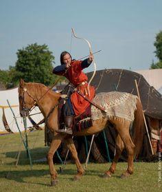 Mongol horse archer by sabiss.deviantart.com on @deviantART