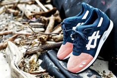 Not only is Ronnie Fieg releasing the Salmon Toe Asics Gel Lyte III, but the grand opening of his store, KITH, is also right around the corner. Hot Shoes, Men's Shoes, Sneaker Posters, Cool Trainers, Asics Gel Lyte Iii, Nike Kicks, Best Sneakers, Sneaker Boots, Me Too Shoes