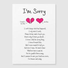 I'm Sorry / Forgive Me Card | Zazzle.com Forgive Me Quotes, Forgiveness Quotes, Im Sorry Quotes, Mom Quotes, Wisdom Quotes, Cards For Boyfriend, Diy Gifts For Boyfriend, Forgive Me Please, Im Sorry Cards