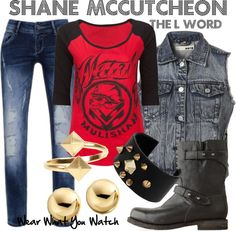 Inspired by The L Word character Shane McCutcheon played by Katherine Moennig.