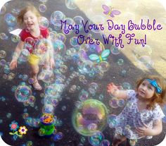 Bubbles make everything better