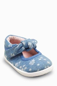 bea0a47c4d3a Buy Denim Pram Shoes (0-2yrs) online today at Next  Greece Inspiration ·  Inspiration For KidsChildrens ...