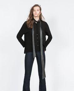 Image 1 of OVERSIZE SHIRT from Zara