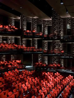 The New Royal Playhouse at Copenhagen by Lundgaard & Tranberg Architects Auditorium Architecture, Theatre Architecture, Auditorium Design, University Architecture, Futuristic Architecture, Beautiful Architecture, Home Theater Room Design, At Home Movie Theater, Home Theater Rooms